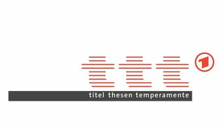 TV doc - Feb 2018  ARD - titel thesen temperamente