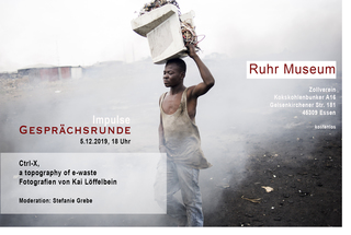 TALK at Ruhrmuseum Essen  5.12.2019   Moderation: Stefanie Grebe